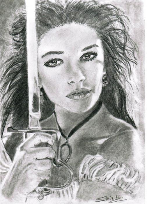 Catherine Zeta-Jones par SILVIA.MH.